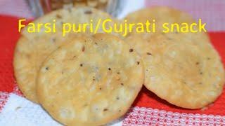 Farsi puriGujrati traditional snack