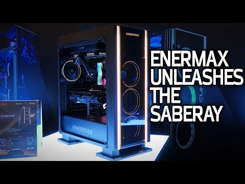 Enermax Unleashes the Saberay & New Liquid Cooling Gear at CES 2018