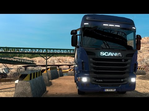 Euro Truck Simulator 2 - Vive la France! - Nice to Marseille | Gameplay (PC HD) [1080p60FPS]