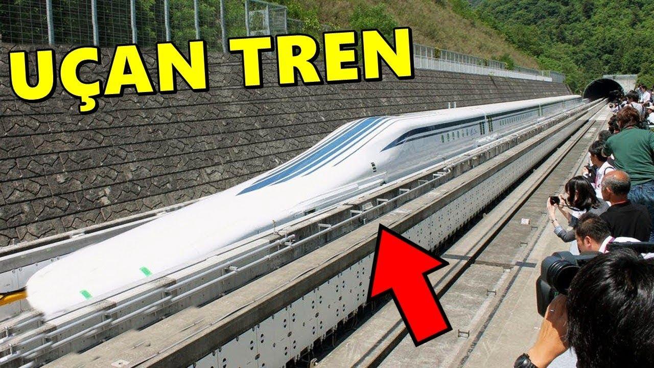 Bu Mantıklı Değil, Bu Hızlı Tren Sürücü ve Ray Olmadan Çalışıyor