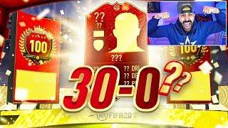 OMG WE DID IT!!! I GOT TOP 100!!!! 30-0?? FIFA 20 Ultimate Team