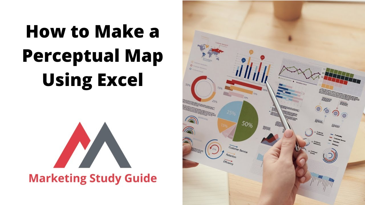 How to make a perceptual map using excel youtube for Strategy map template xls