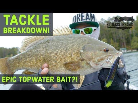 Big Bass on Topwater Walking Baits - Tackle Breakdown Diamante
