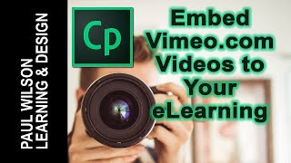 Adobe Captivate – Add Vimeo Videos to Your eLearning(In this video I will show you how you can embed a video from the Vimeo website into your eLearning project. Visit my website: http://www., 2016-04-22T20:46:44.000Z)