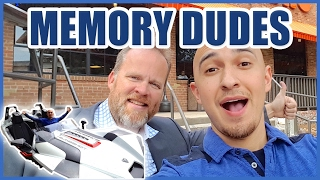 Memory Dudes Fight Crime in Memory Mobile | Superhuman Adventures in Texas Luis Angel & Ron