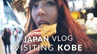 Japan Vlog - Evening trip to Kobe