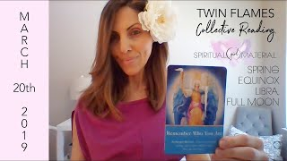 TWIN FLAMES Spring Equinox & Full Moon in Libra