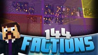 Minecraft Factions #144 - INSANE Mob Grinder! (Minecraft Raiding)