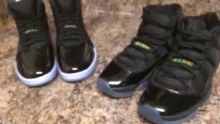 Jordan 11 Gamma Blue vs. Jordan 1 '95 TXT Gamma Blue Comparison/Review Thumbnail