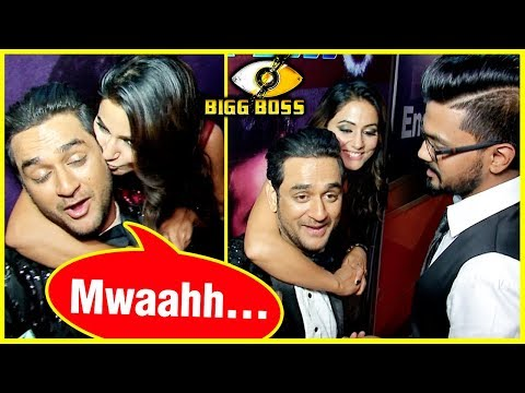 Hina Khan KISS Vikas Gupta At Bigg Boss 11 FINALE