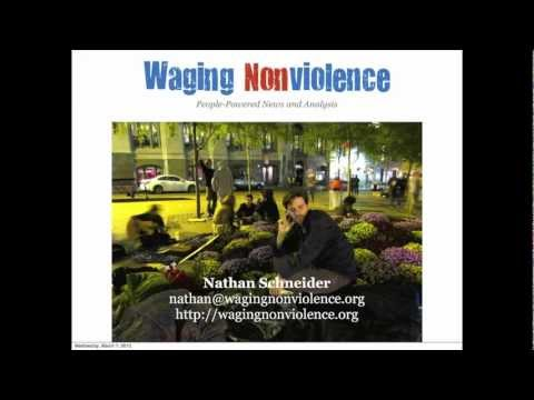 Nathan Schneider - Did the planners of Occupy Wall Street really have a plan?