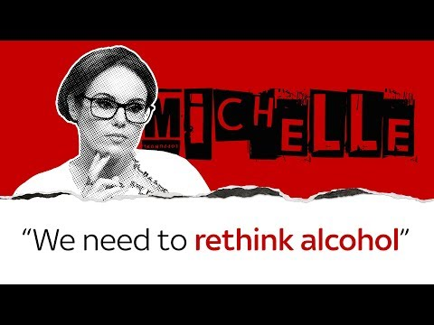 Michelle Dewberry thinks we have a bad relationship with alcohol