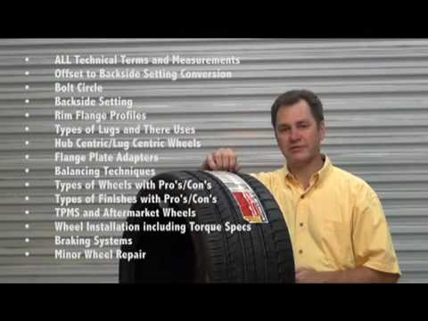 Tire and Wheel Training Course Outline