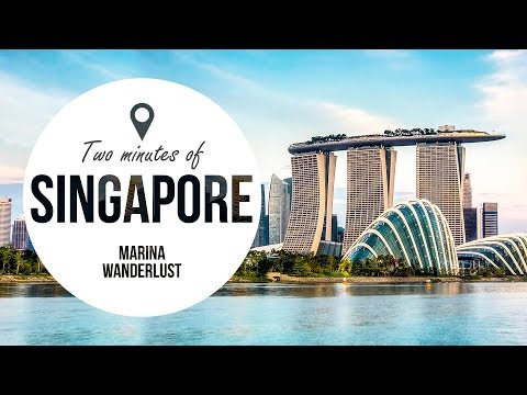 Singapore Travel Guide in 2 Minutes | Map Inside Video