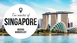 Singapore Attractions | Travel Guide in 2 Minutes | Map Inside Video