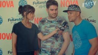 Future Music TV Ep.1 ~ Future Music Festival 2014 Launch feat. Rudimental