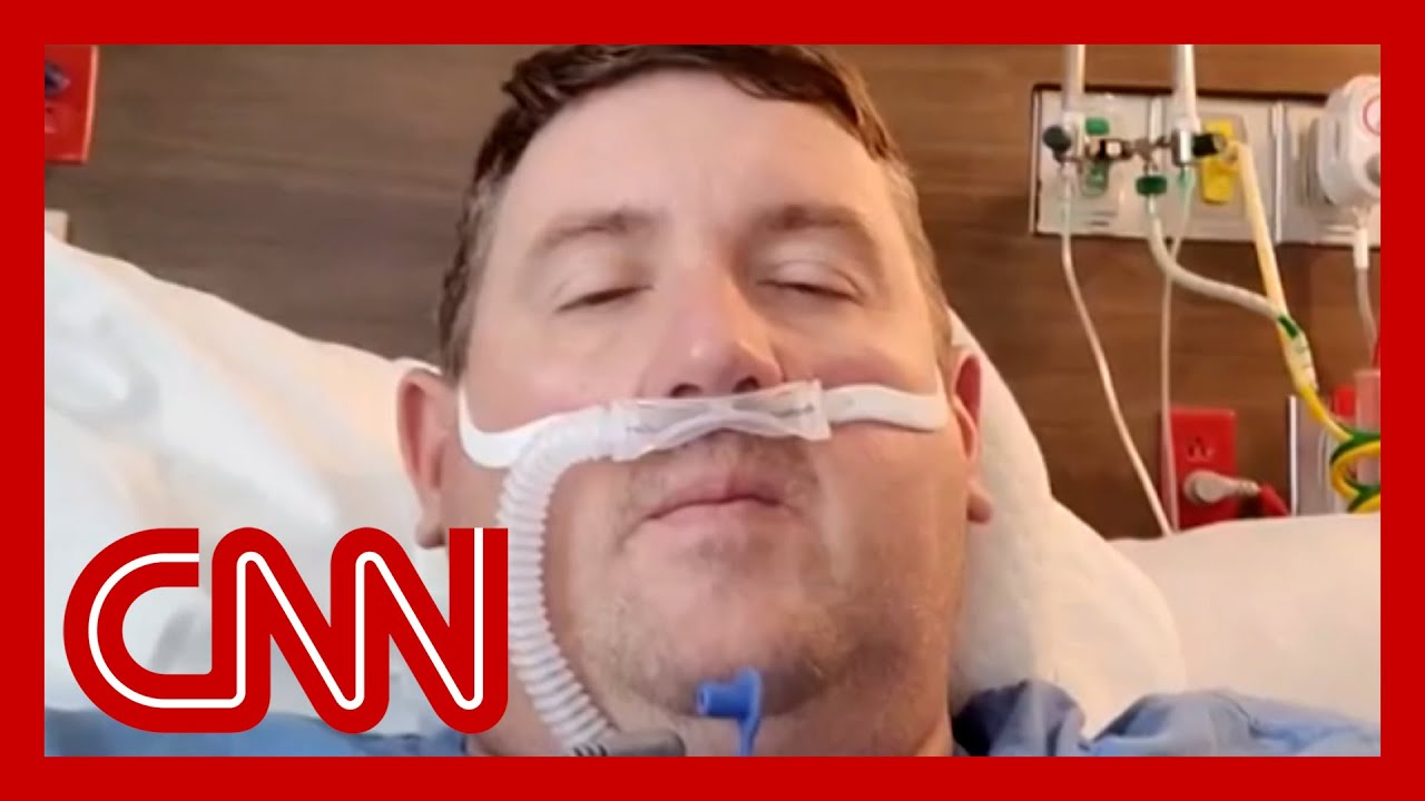 Unvaccinated man in ICU shares heartbreaking Covid-19 video diary - CNN