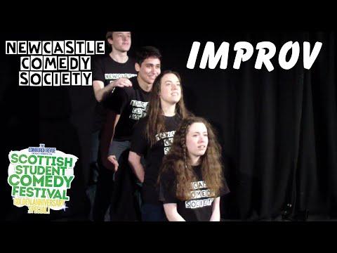 Newcastle Comedy Society Improv @ Scottish Student Comedy Festival 2015