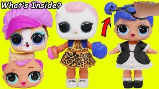 L.O.L. Surprise! Dolls What's Inside Cutting Wrong Clothes Haircut Lil Sisters Transform Unboxed!