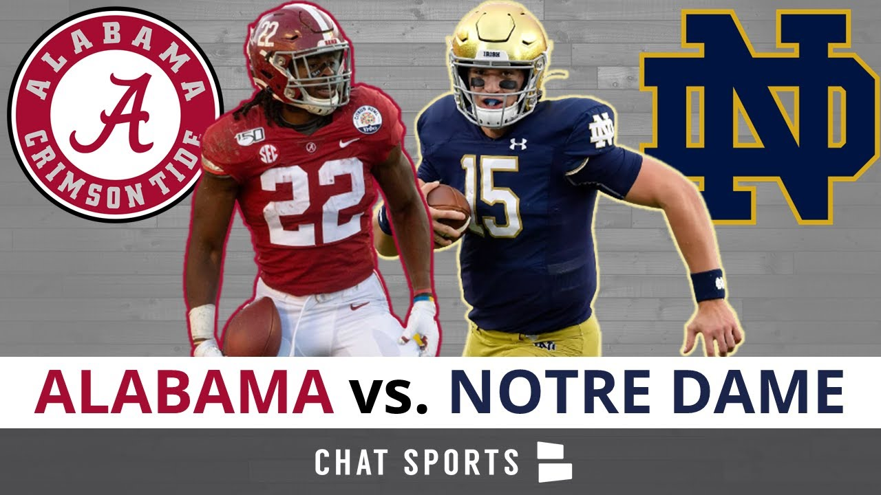 Alabama vs notre dame betting spread premier betting tanzania mega mix de vicente