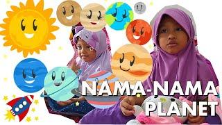 Download Nama-Nama Planet Tata Surya (Lagu Pelangi)