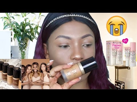 Jackie Aina X Too faced Born This Way Foundation and Hangover Primer Review thumbnail