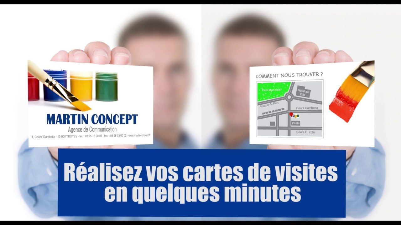 Comment Creer Vos Cartes De Visite Avery
