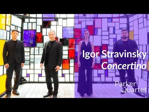 Parker Quartet Stravinsky Concertino