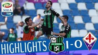 Sassuolo - Fiorentina 1-0 - Highlights - Giornata 34 - Serie A TIM 2017/18