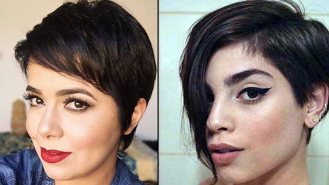 Pixie Haircuts for Women 2017 - Short Pixie Cuts Women - YouTube