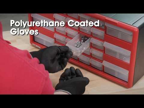 Uline Polyurethane Coated Gloves