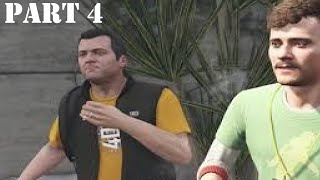Grand Theft Auto V Gameplay Walkthrough Part 4 | Casing The Jewel Store | PS4 Pro