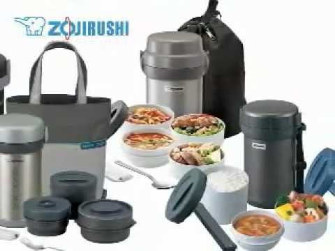 all about zojirushi stainless steel lunch jars youtube. Black Bedroom Furniture Sets. Home Design Ideas