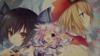 Hyperdimension Neptunia Victory Limited Edition Unboxing Playstation 3