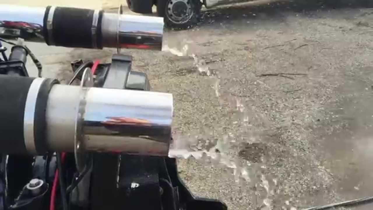 Stainless Marine Exhaust