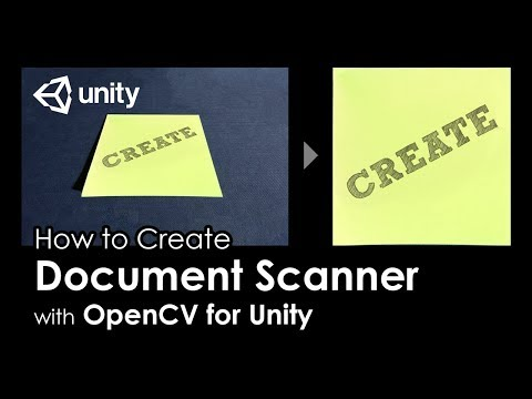Creating an OpenCV DLL with Visual Studio 2017 for Unity