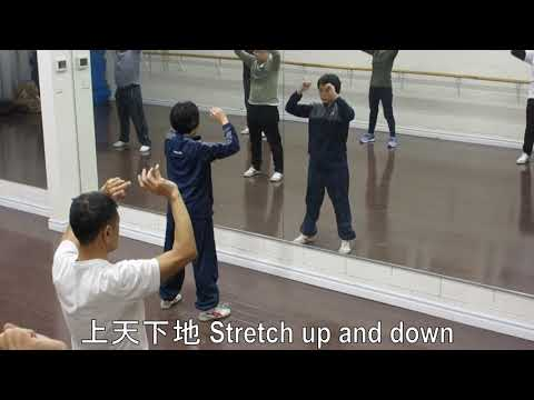Qi Gong 8 moves - complete demonstration