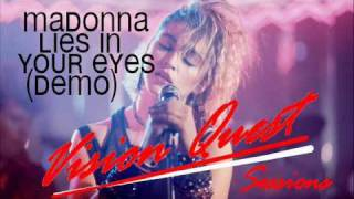 Madonna - Lies In Your Eyes (Demo)