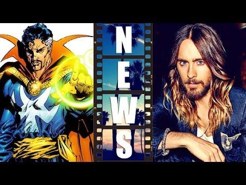 Dr Strange movie signs Scott Derrickson today and Marvel circles Jared Leto - Beyond The Trailer