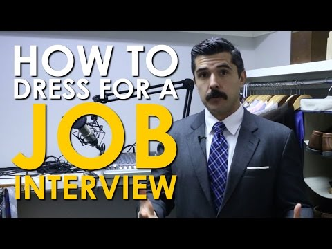 How to Dress For a Job Interview | The Art of Manliness