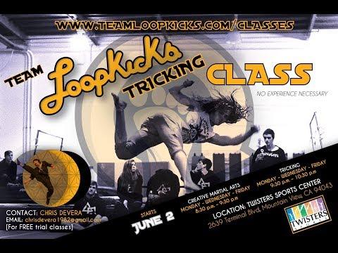 Team Loopkicks Classes