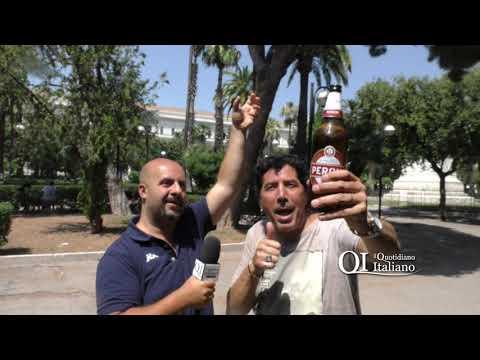 """Bari, ex tossico si consola con litri di birra. Francesco: """"Niente spaccio in piazza Umberto"""""""