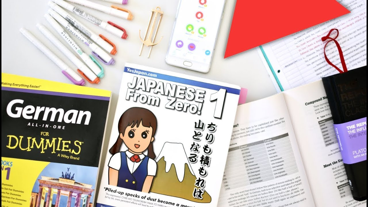 LANGUAGE LEARNING ESSENTIALS // Back to School 2018 #5