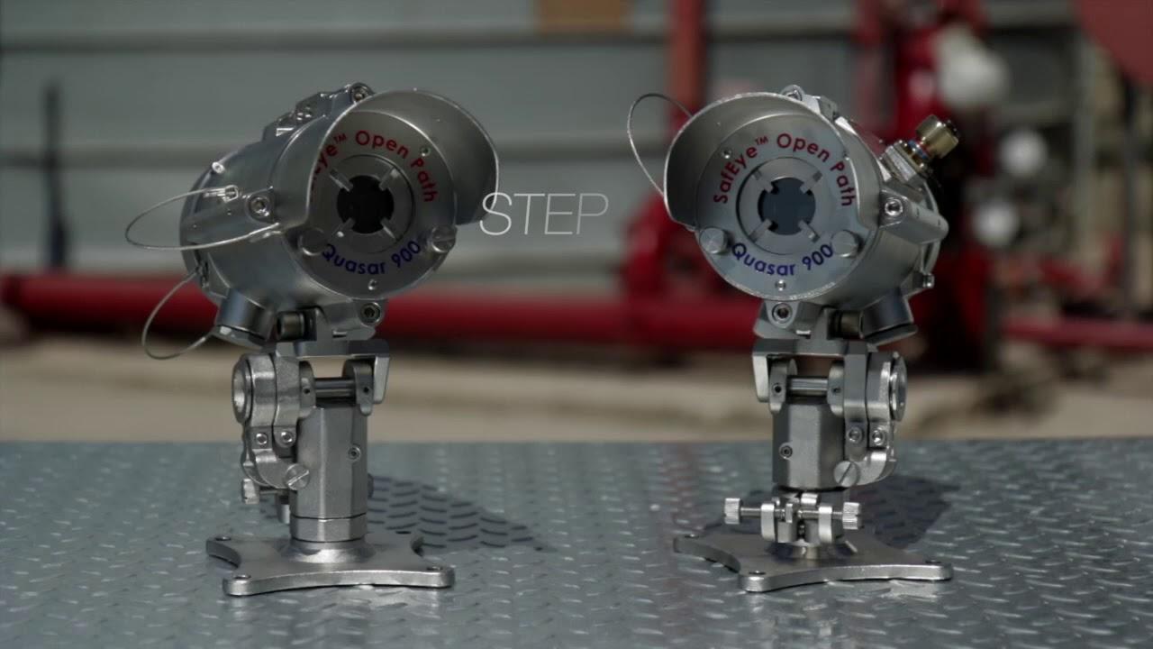 Spectrex Safeye Quasar 900 Open Path Gas Detector Youtube