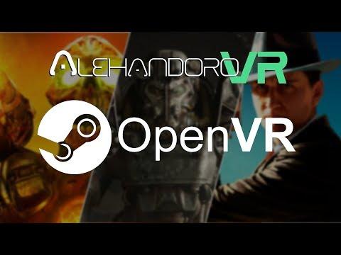DOOM VFR - FALLOUT 4 VR - L.A. NOIRE Y QUE ES OPENVR | Realidad Virtual en Español