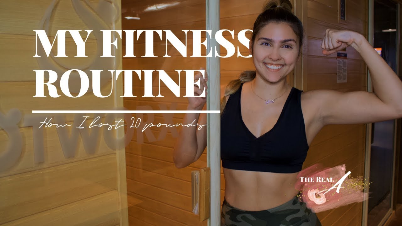 How I lost 20 lbs   HOTWORX Fitness Routine   Andrea' Hightower