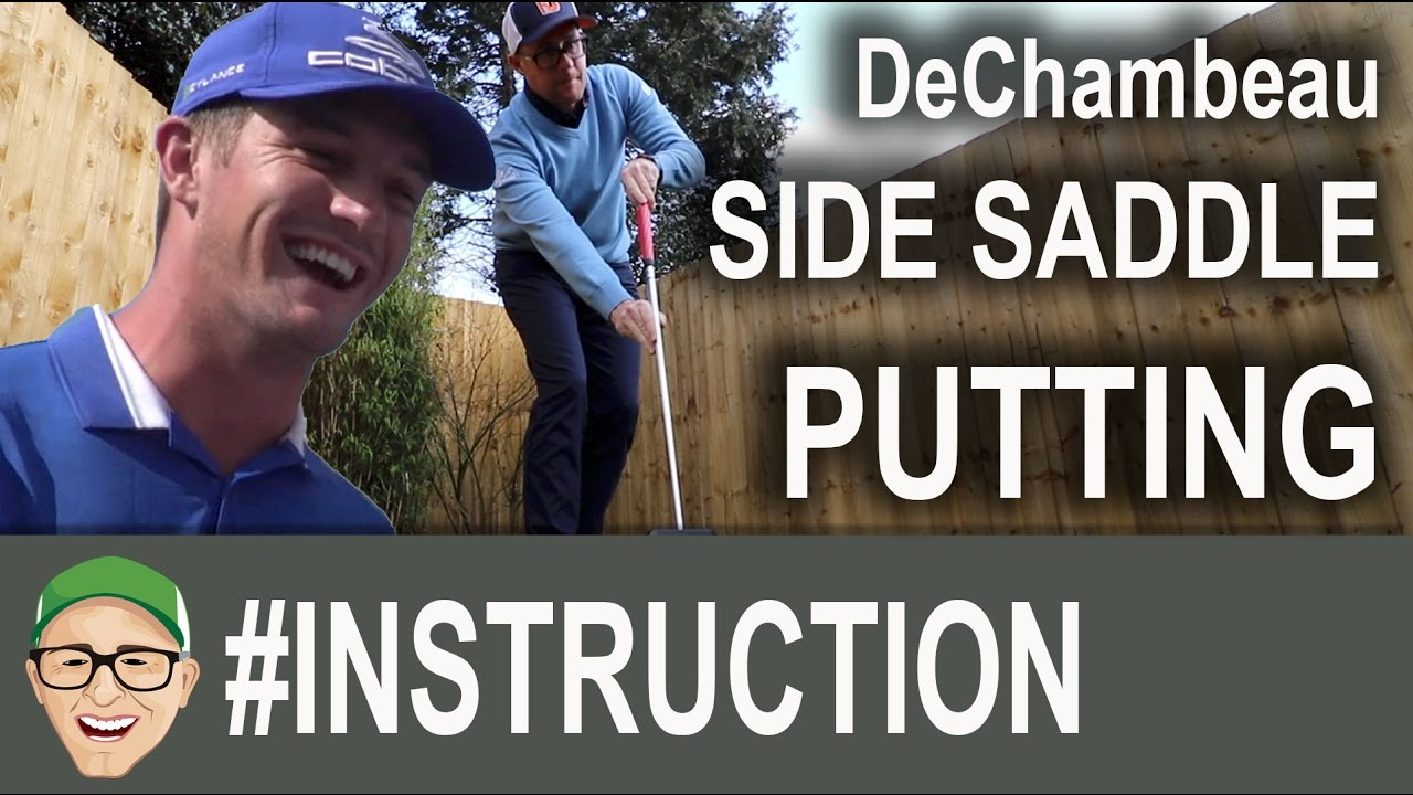 Bryson DeChambeau's Putting Technique - YouTube