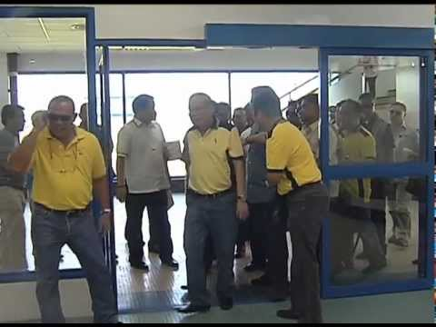 Inspection of the Laguindingan Airport Development Project 2/26/2013