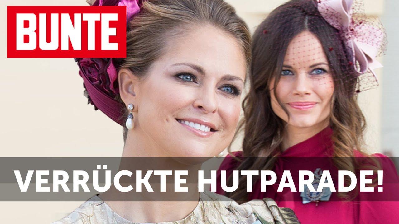 Madeleine, Sofia & Co. - Die verrückte Hutparade der royalen Taufe  - BUNTE TV