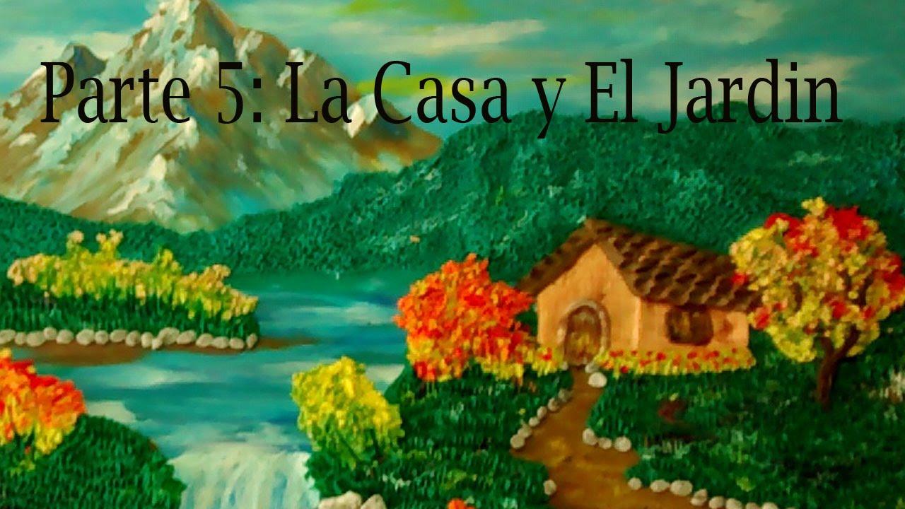 Como hacer un paisaje en plastilina 5 la casa y el jard n - Como hacer un ambientador natural para la casa ...